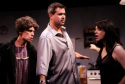 Mary BestBova as Mag, Tony Foley as Pato and Jill Bari Steinberg as Maureen