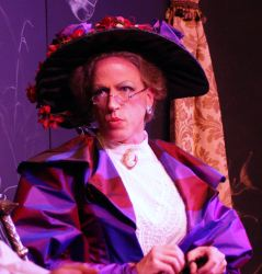 Robert Throckmorton as Lady Bracknell