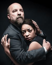 David Clark as Gerardo Escobar and Katrinah Lewis as Paulina Salas