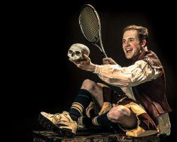 Dixon Cashwell as Hamlet