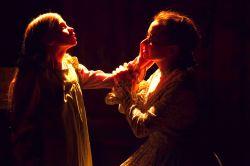 Ellie Martin as Helen Keller and Audra Honaker as Annie Sullivan